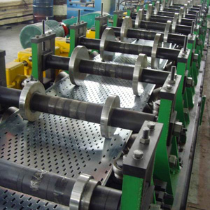 High Productivity Cable Tray Roll Forming Machinery For