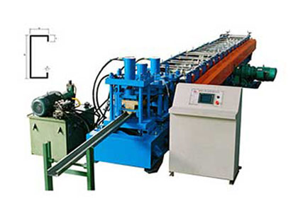 C/Z purlin cold roll forming machine