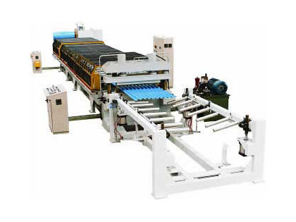 Roof & wall panel roll form machine