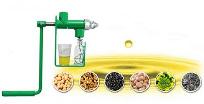 Buy Small Castor Oil Extractor for Home Use