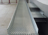 Cable tray roll forming machinery sample