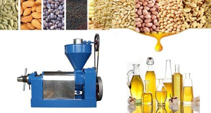 Pretreatment and properties of raw materials for oil press