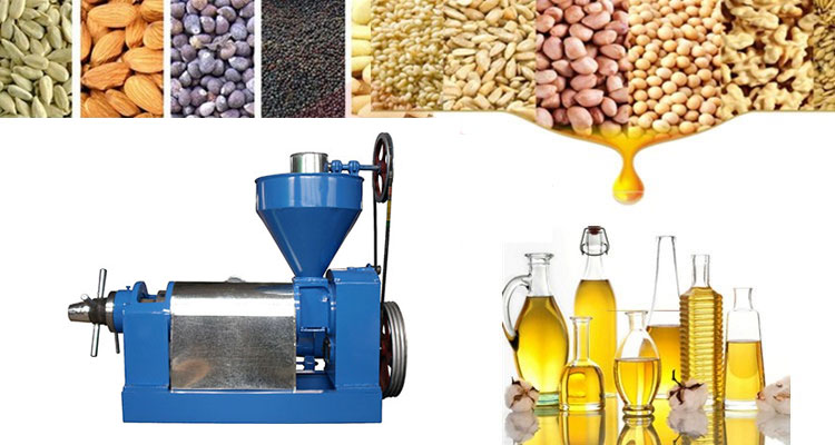 Raw Materials For Oil Press