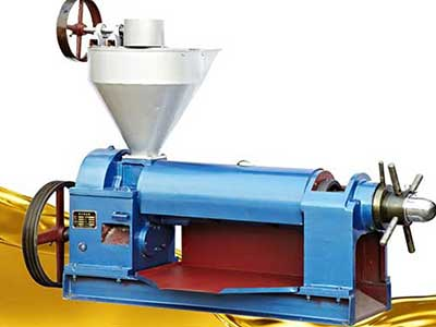 Sunflower Seeds Oil Press