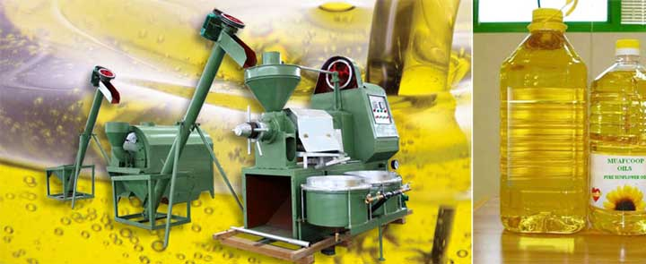 rapeseed oil press plant