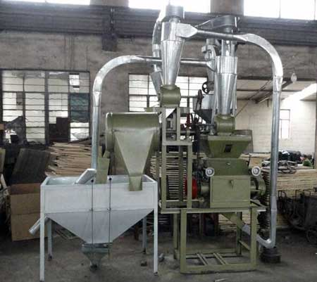 small flour mill