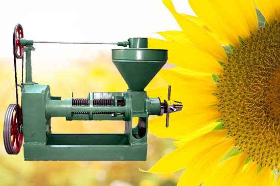 sunflower oil seed press
