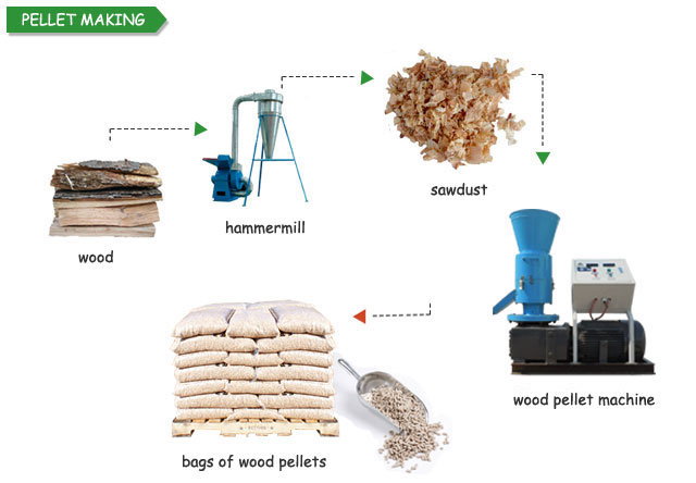 Process of Pellet Manufacturing Equipment